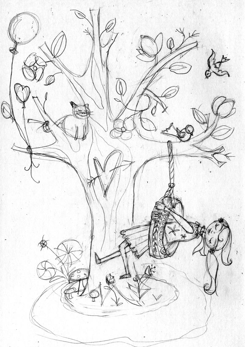 Sketch I developed for illustration below