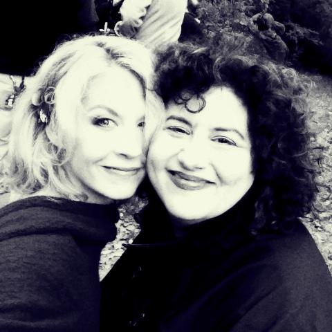 Me, on set filming w/ author/writer/director of Big Stone Gap, Adriana Trigiani.  Twitter:  @bsgmovie   @AdrianaTrigiani   @AshleyJudd   @patrickwilson73   @WhoopiGoldberg   Instagram:  @  AdrianaTrigiani  @  AshleyJudd  @whoopi_1   Hashtag: #bigstonegap