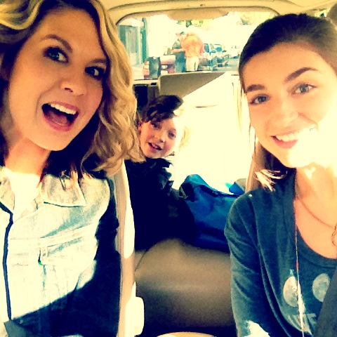 """DEC. 10: Me, Avaand Elifilming """"Growing Up Fisher"""".LOVE these peeps."""