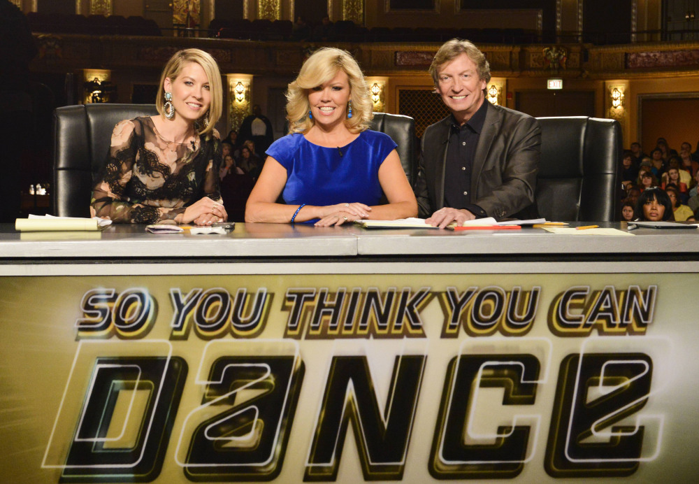 Chicago auditions judges: Jenna Elfman, Mary Murphy and Nigel Lythgoe