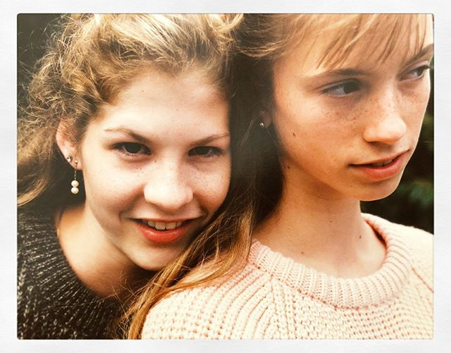 #tbt Maybe 1987 or 1988. Me and my very best friend in ballet, school and life at that time. Spent so many, many hours together. Saw her several years ago, both of us mothers now, we embraced and couldn't let go of each other.  Held hands for an hour straight. I miss that. I just texted her this morning.  Haven't spoken to her in a few years.  I hope that it's still the right number for her. Those friendships formed never leave your heart. ♥️ #holly