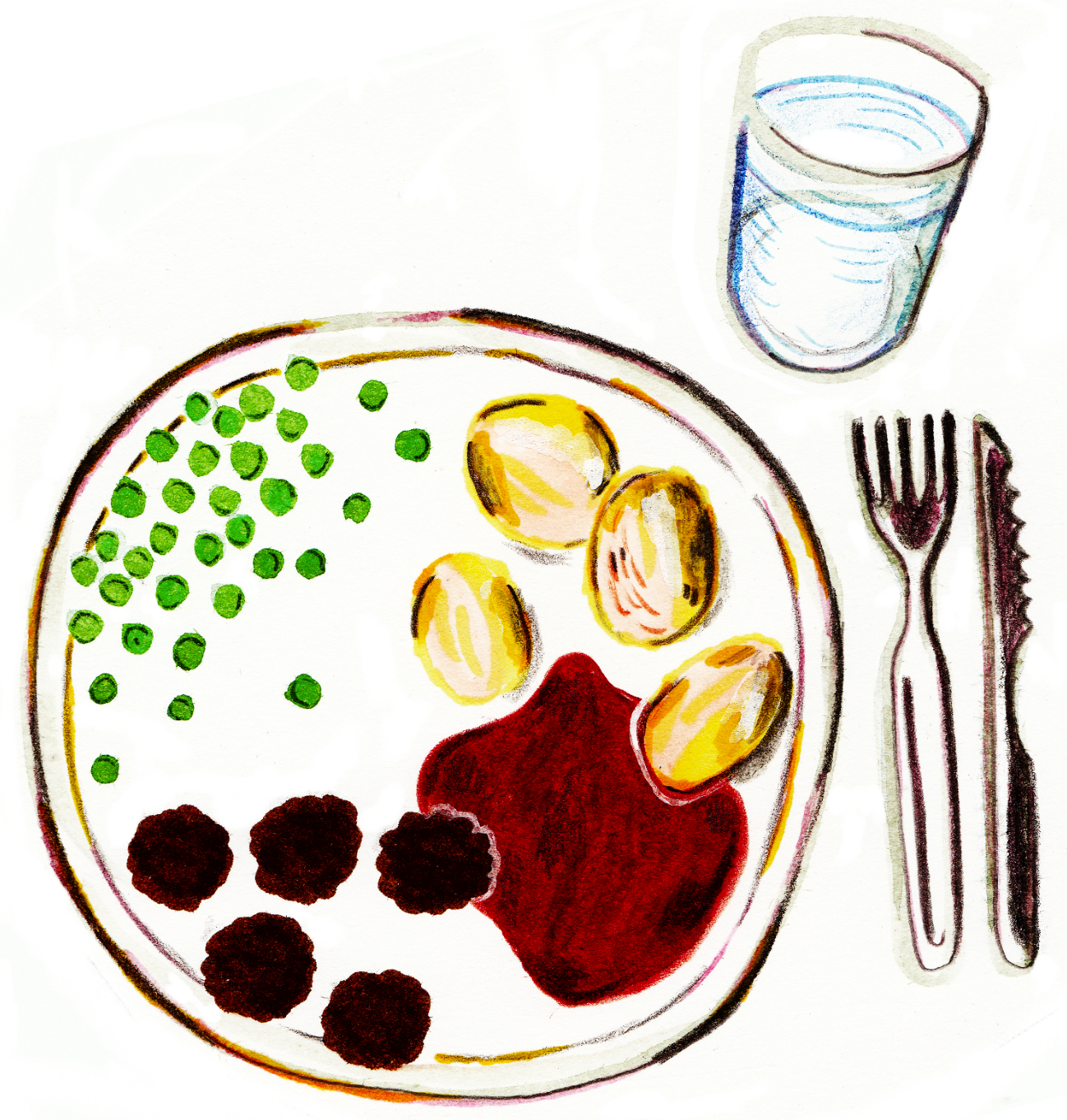 For an article about a study about nutrition aid at care homes.