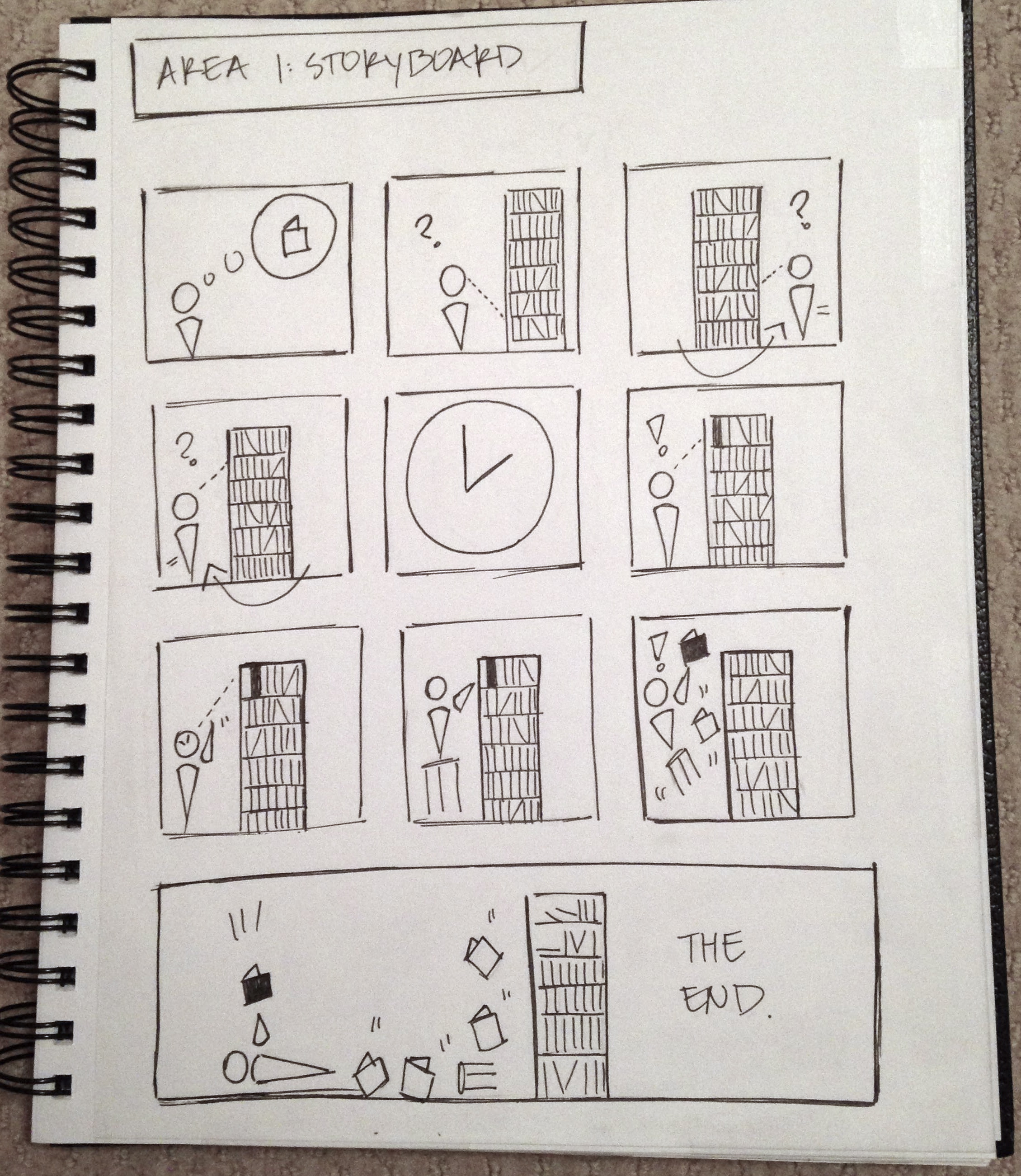 DP3: Storyboard 1 (Bookshelf)