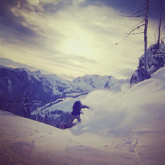 Snowboard season in Nassfeld 2012/13