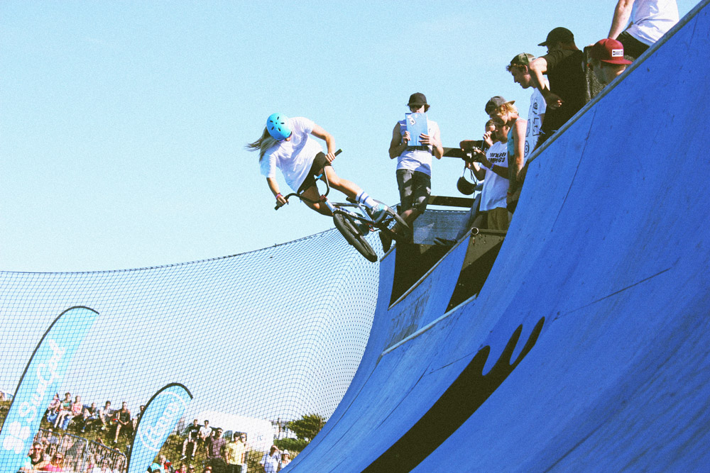 Holly Bendall at Boardmasters 2014