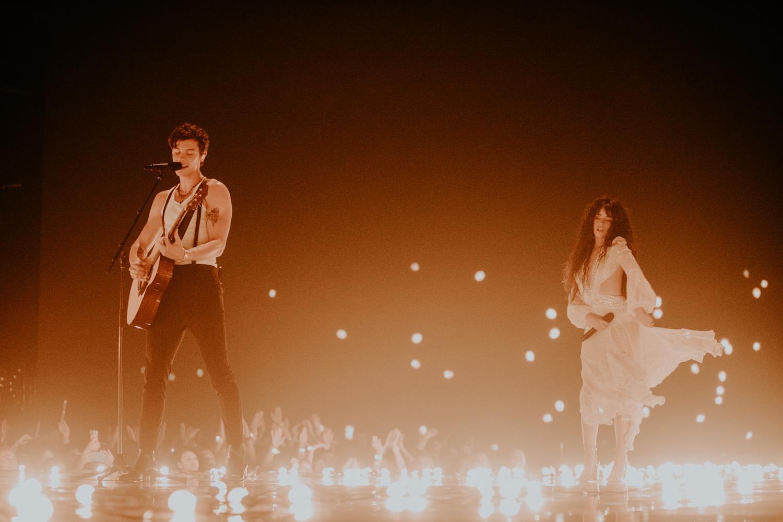 Shawn Mendes & Camila Cabello . MTV VMAs 2019