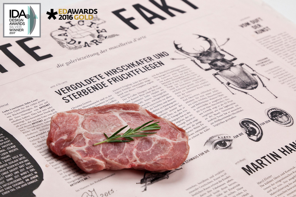 ARTEFAKT*   EDITORIAL DESIGN / WEBSITE    * EUROPEAN DESIGN AWARDS 2016 GOLD * IDA INTERNATIONAL DESIGN AWARDS 2017 SILVER