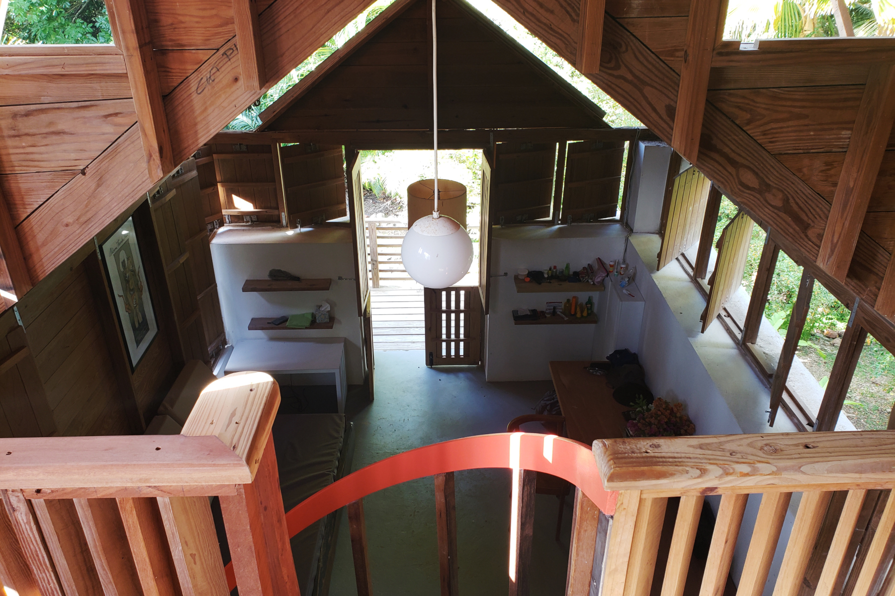 Our Cottage from upstairs