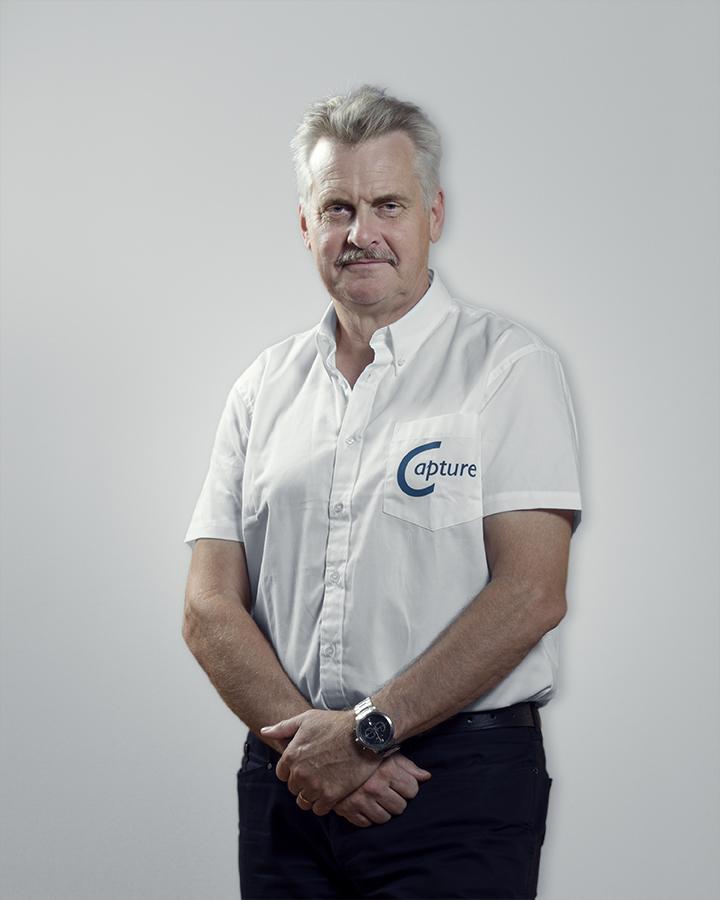 Lars (Lasse) Berg, the sales directorof Capture