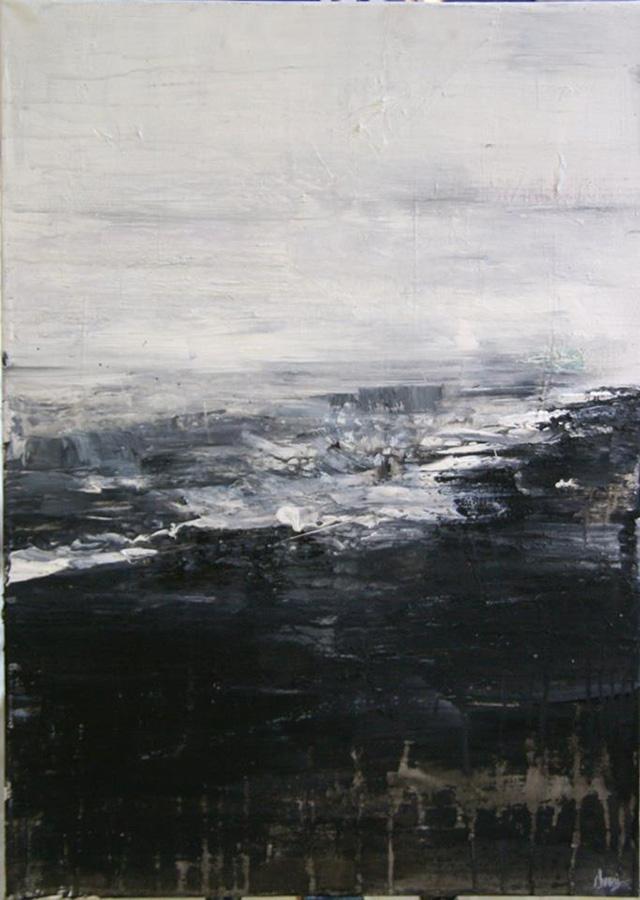 """Black Sand Beach"" by Yiota Chroni"