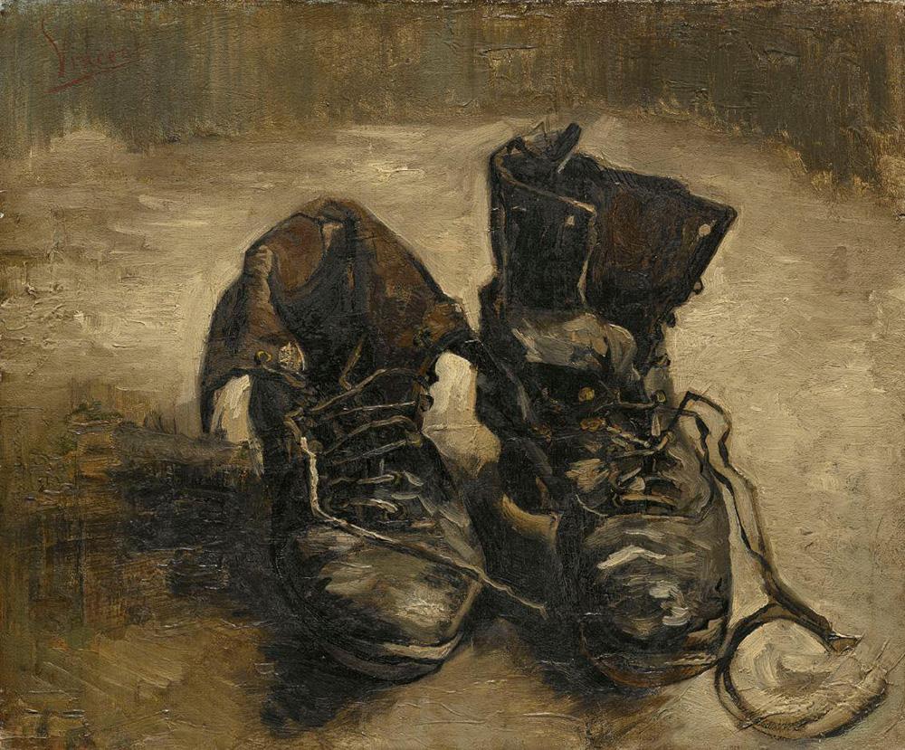 """""""Les Souliers"""" by Vincent van Gogh"""