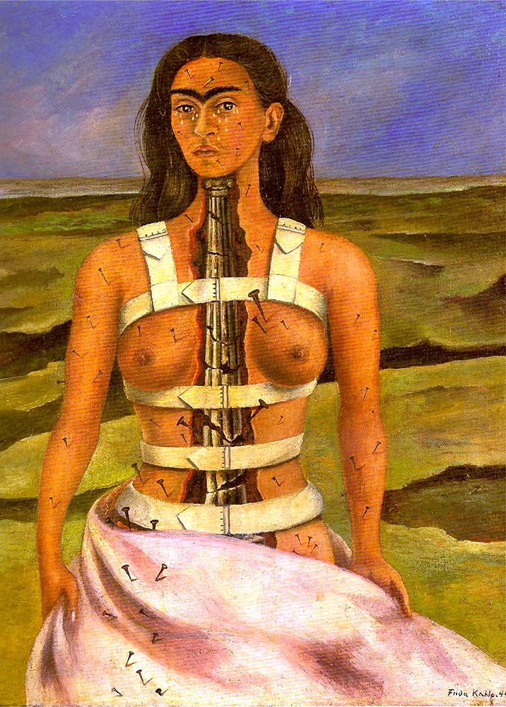 """La Columna Rota"" by Frida Kahlo"
