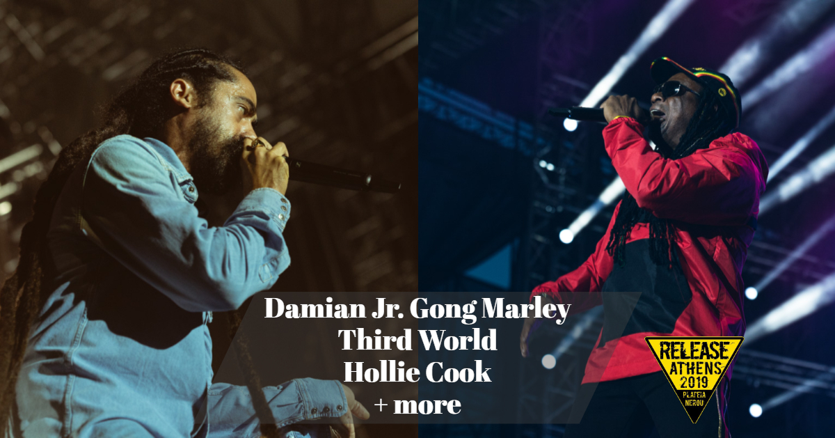 Release Athens Festival 2019 - Damian Jr. Gong Marley, Third World, Hollie Cook + more_thumbnail.jpg