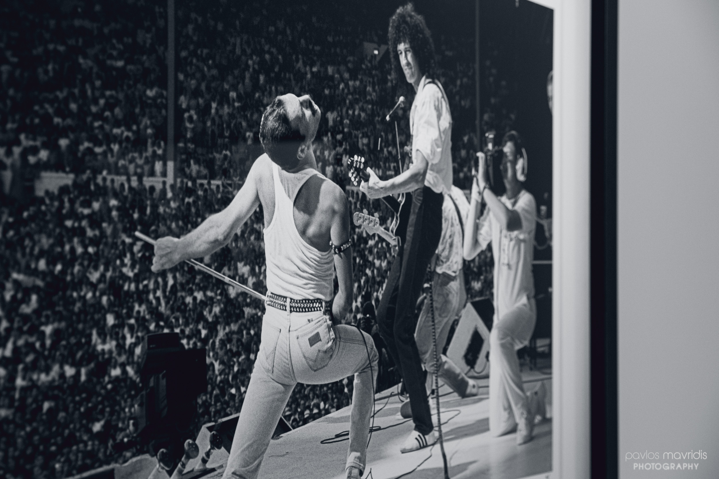 Queen live at Live Aid (Photo by Neal Preston)