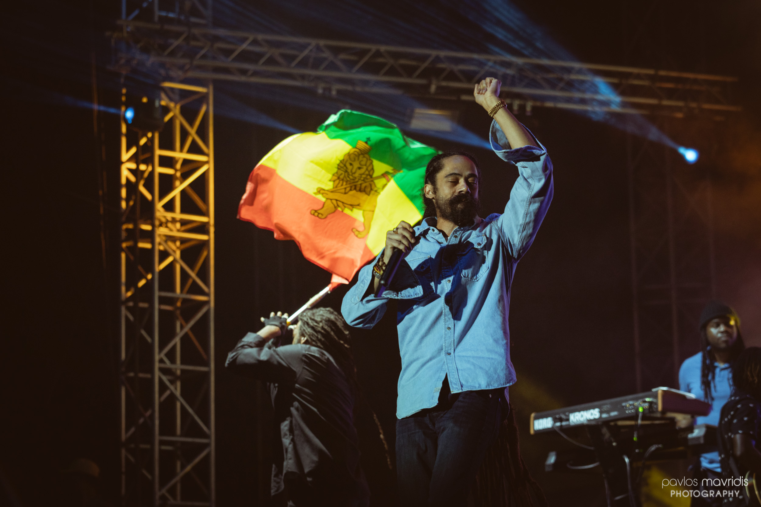Release Athens 2019 μέρα #1 με Damian Jr. Gong Marley