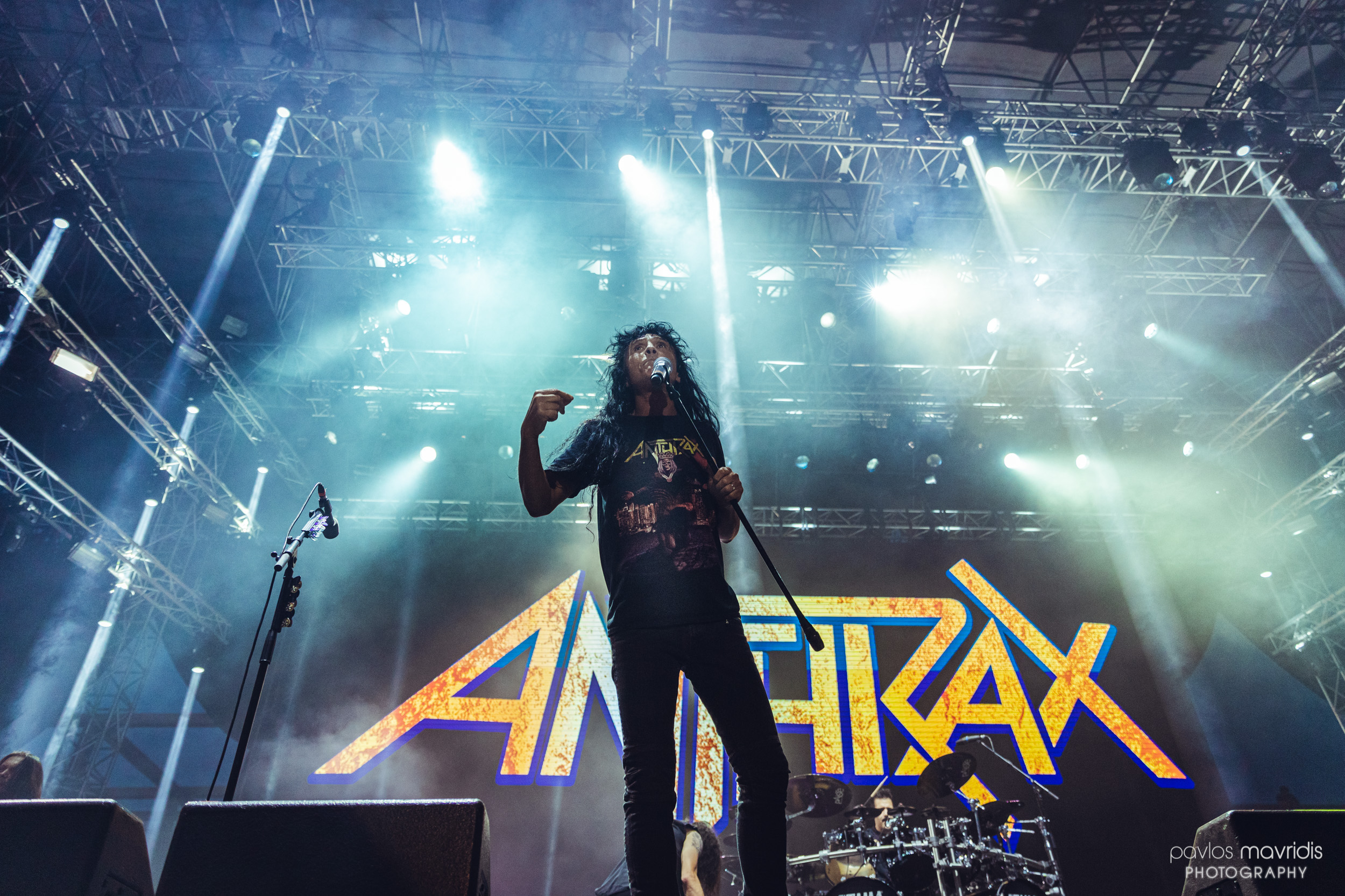 Release Athens 2019 μέρα #9 με Anthrax