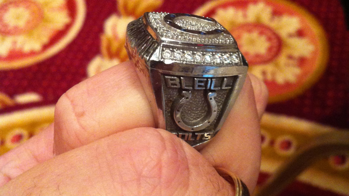 Josh's AFC Championship ring