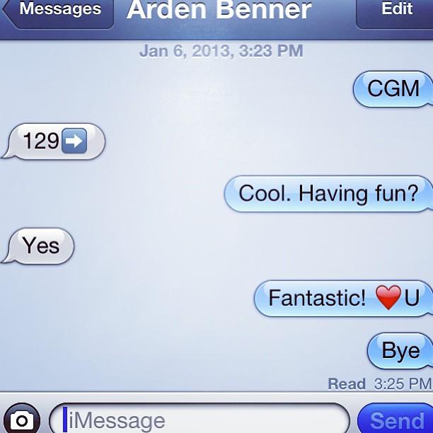 Texting BGs