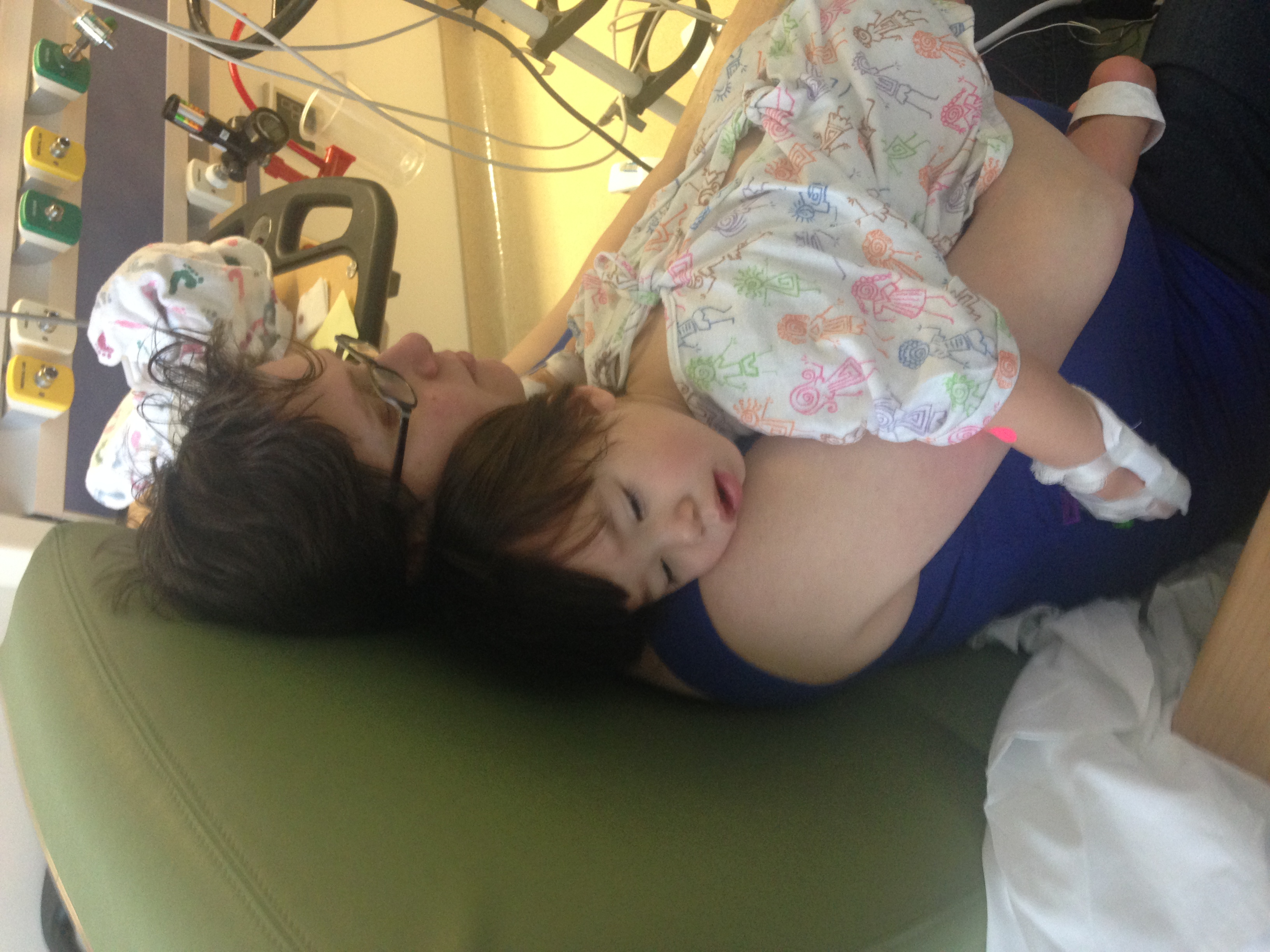 Beth and Jack in the Hospital