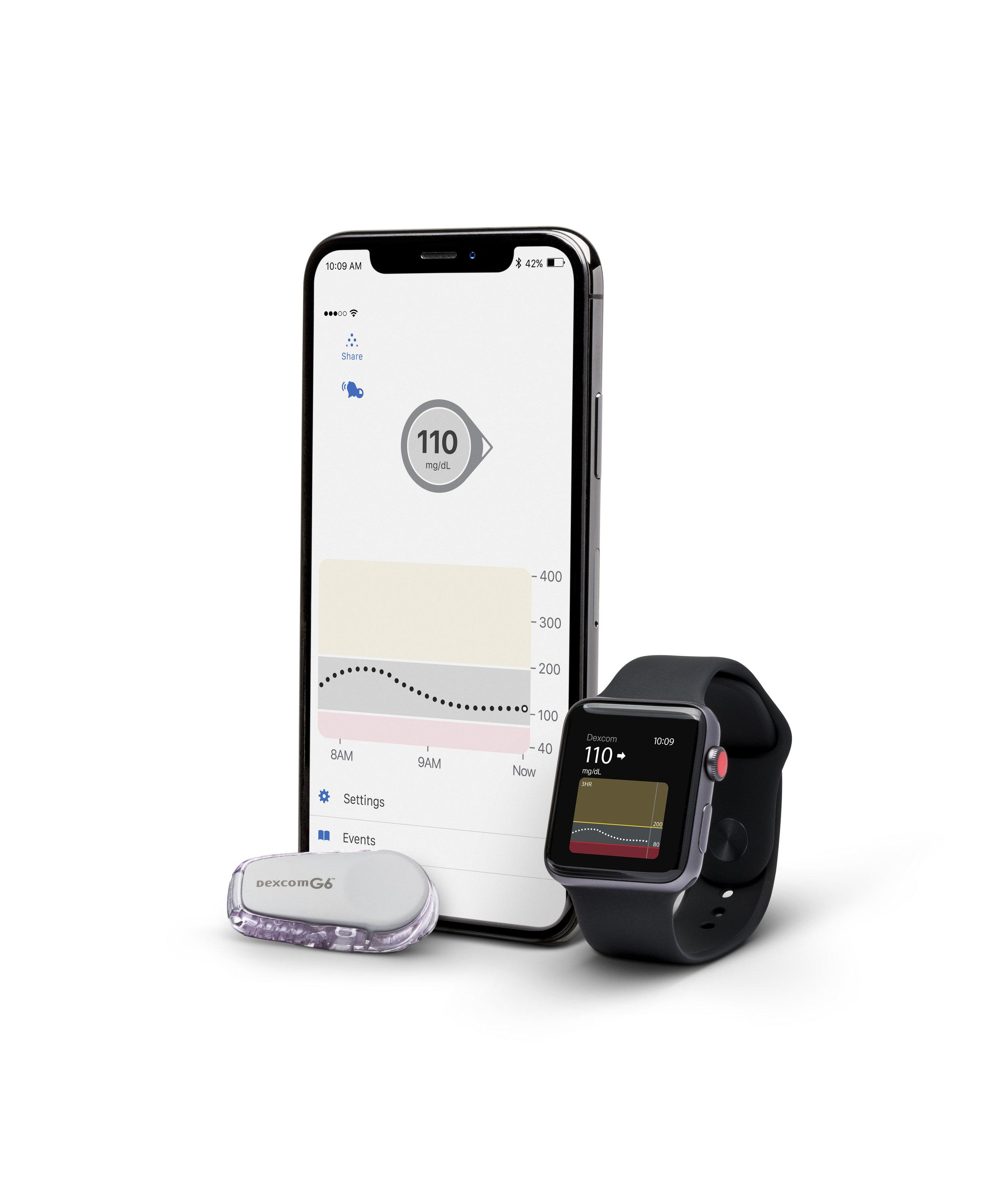 Dexcom G6 and Apple Watch