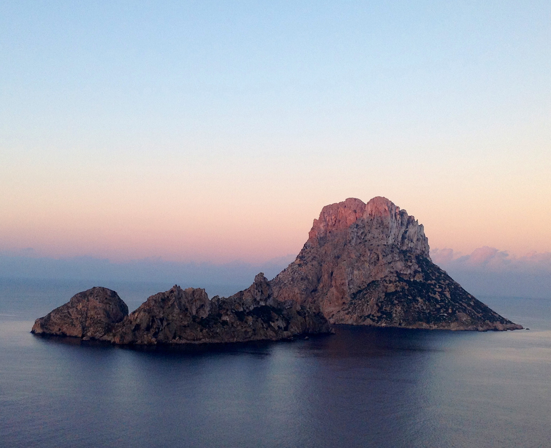 The third most magnetic point on the planet - Es Vedra, Ibiza.