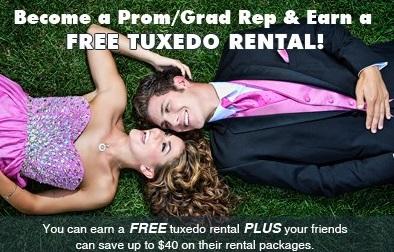 Grad and Prom Tuxedo Rental