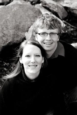 Owner Erin Bouchard with husband, Joel