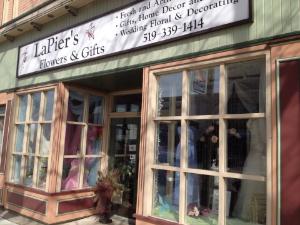LaPiers Flowers Window