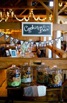 For the 'cookies +milk'kinda bride