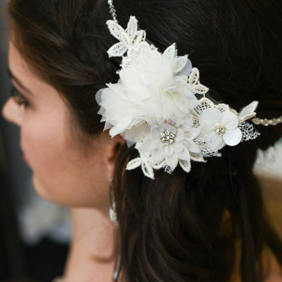 Once Upon A Time Weddings Headpiece.