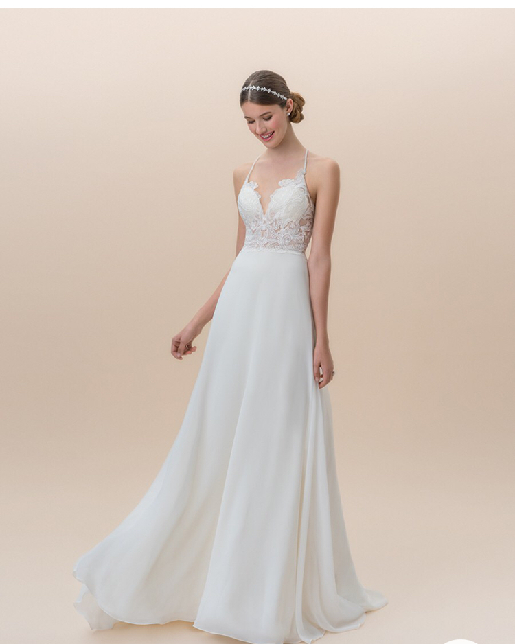 One of our new arrivals that would be perfect for a beach wedding!
