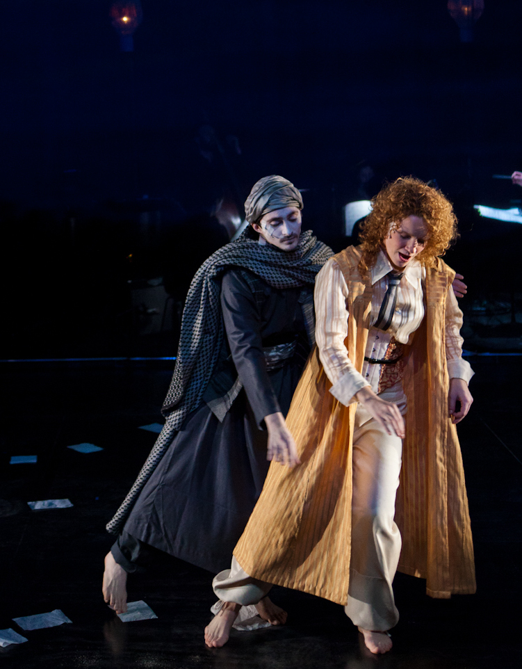 as Slimene with Abby Fisher as Isabelle Eberhardt; February, 2012