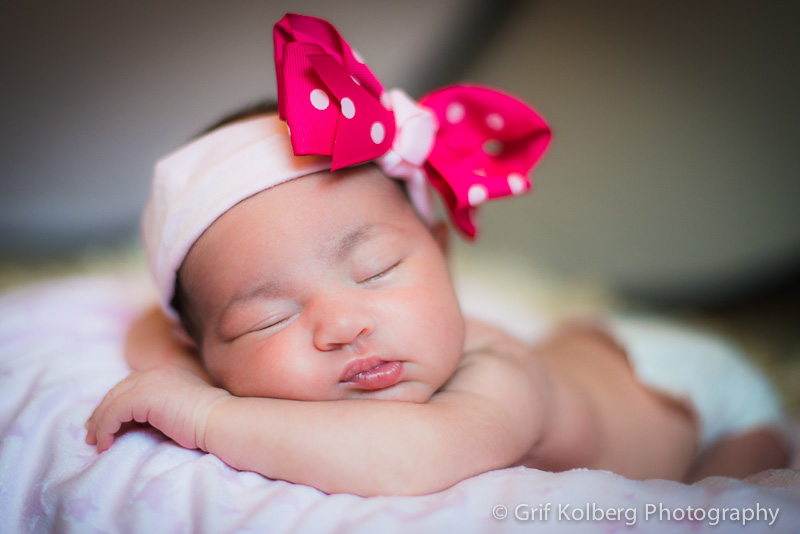 Baby Lily's Infant Session - Sugar Land Portrait Photographer