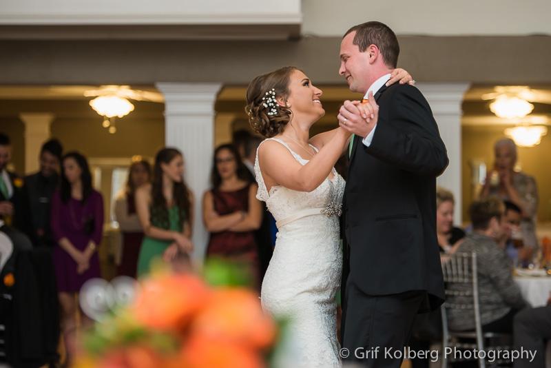 Ella's Garden Wedding, First Dance as husband and wife, Tomball Wedding Photographer