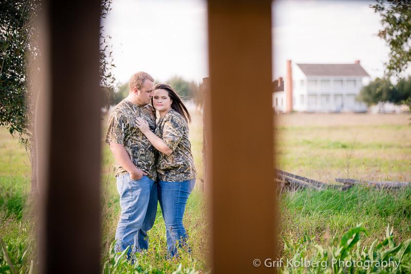 Camo Engagement Photos, George Ranch Historical Park, Houston Wedding Photographer