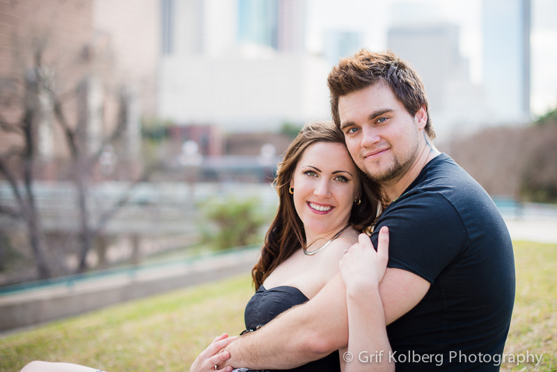 Engagement Pictures, Downtown Houston, Houston Wedding Photographer