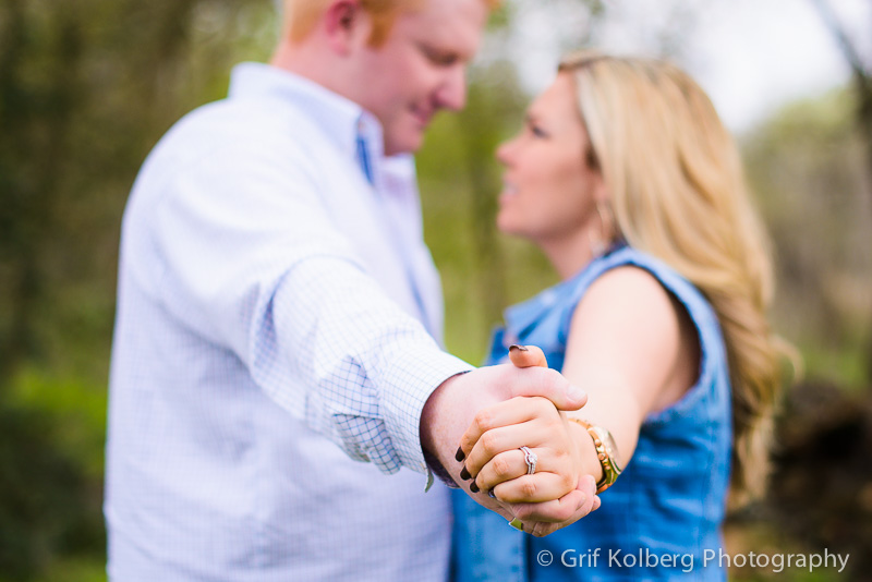 Houston Engagement Photographer - George Ranch Historical Park Engagement Session