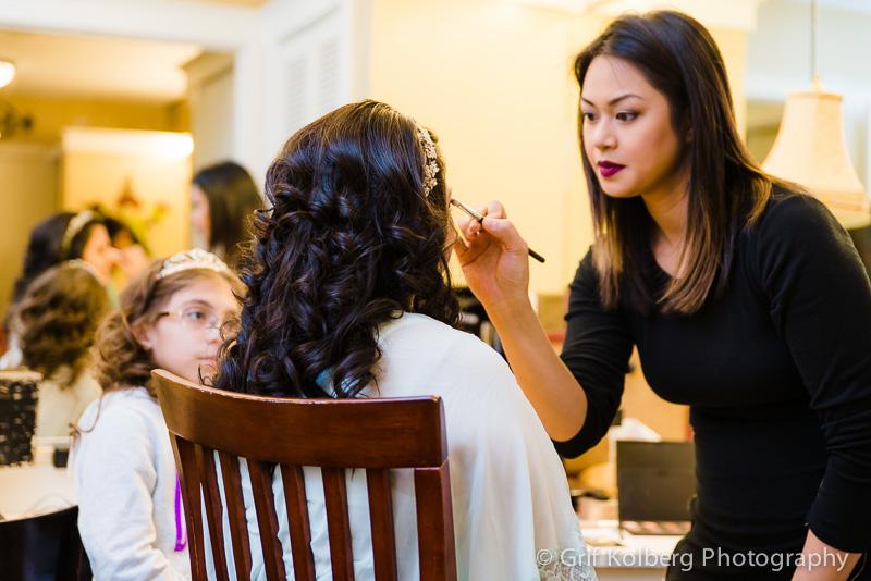 Bridal make up, Wedding at George Ranch Historical Park, Sugar Land Wedding Photographer