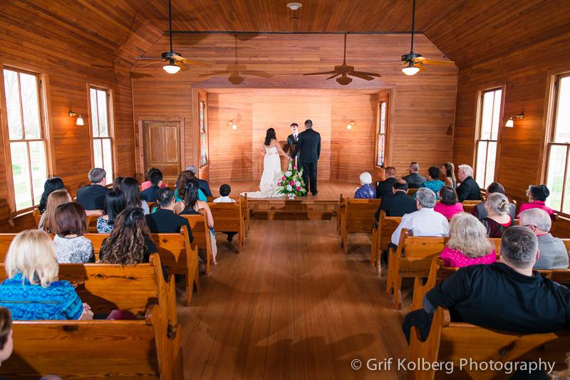 chapel wedding at George Ranch Historical Park, Richmond, TX, Sugar Land Wedding Photographer