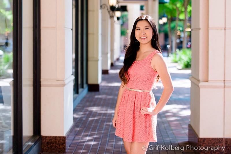 Clements High School Senior Portrait Session, Sugar Land, TX, Sugar Land Town Square, Senior Portrait