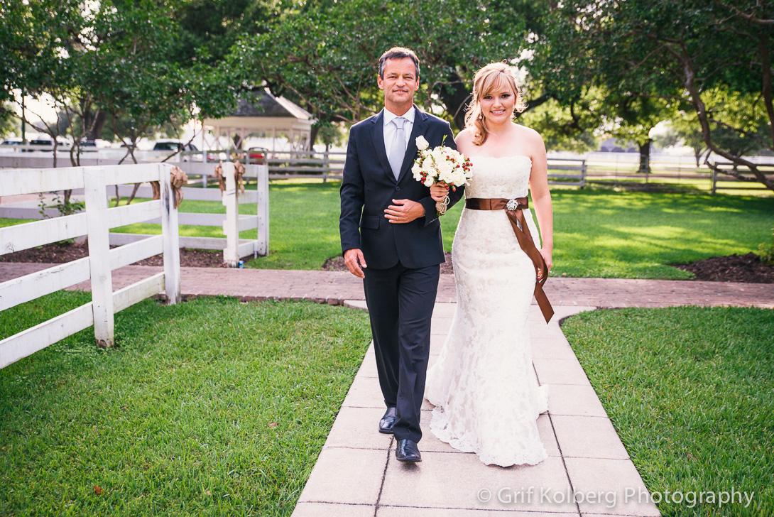 Wedding at George Ranch Historical Park by Grif Kolberg Photography, Sugar Land Wedding Photographer