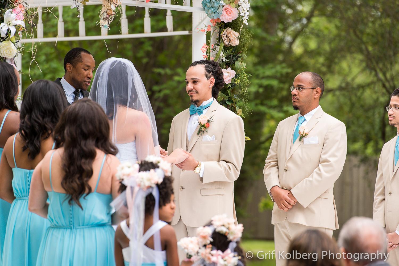 Monique + Morgan | Ella's Garden | Tomball Wedding Photographer