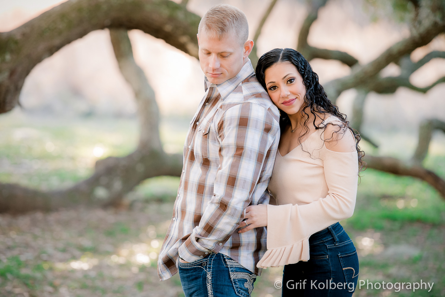 Engagement Photo Session Brazos Bend State Park