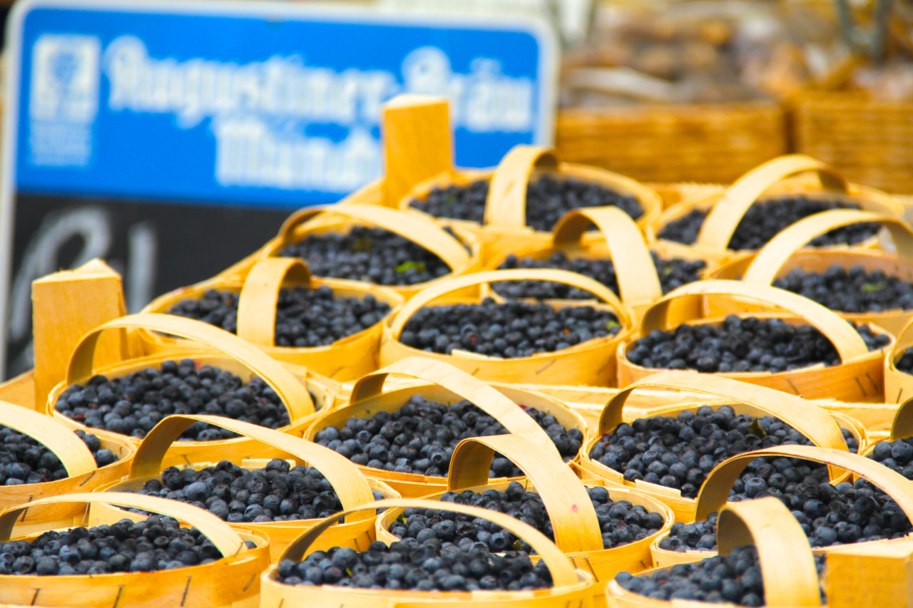 Wild Blueberries are hard to beat