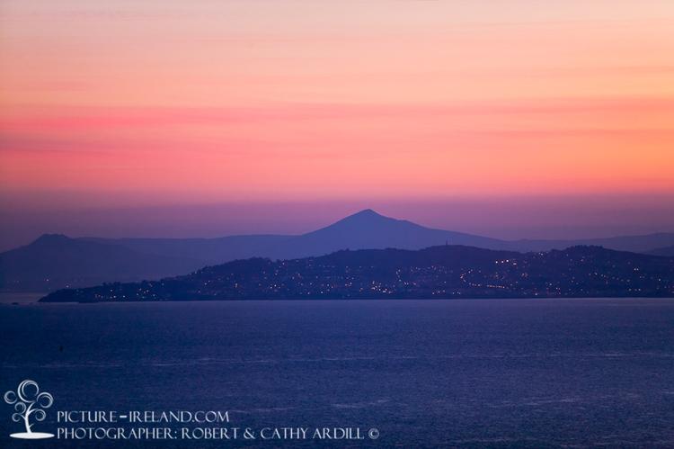 W24360 - Dublin Bay at Sunset