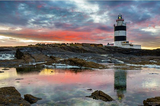 Featured Photo: Hook lighthouse at dawn by @popavladandrei. The Hook Lighthouse is situated on Hook Head at the tip of the Hook Peninsula in County Wexford. It is one of the oldest lighthouses in the world, and the oldest operating lighthouse in the world.  Thanks for using our hashtag #pictureireland.  Make sure to check out his page :-) Follow our page to see more amazing pictures of Ireland. -------------------------------------------------------------------------- Use the #pictureireland hashtag to share your best photos and to be in with a chance to be featured on our Instagram and our website community page: www.picture-ireland.com/community  #pictureireland #fineart #landscape #photography #ireland #inspireland_ #loveireland #igersireland #insta_ireland #instaireland #irish #photograph #discoverireland #emeraldisle #amazing #picoftheday #Irish  #photographers #landscapephotography #Wexford #hookhead #hooklighthouse #lighthouse #countywexford #irishcoast #irelandsancienteast #dawn