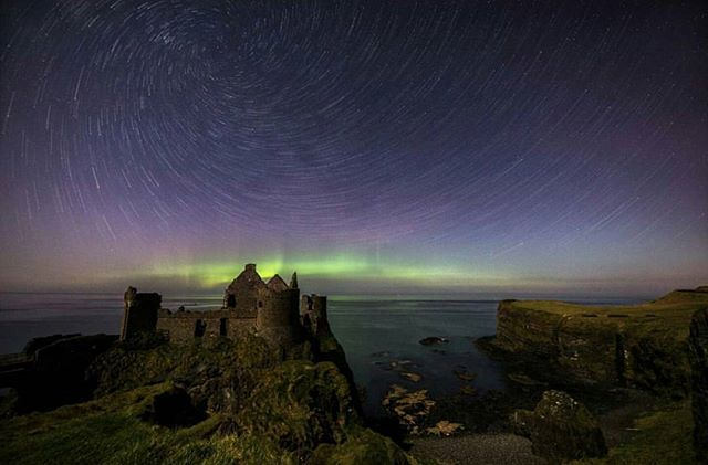 Featured Photo: A spectacular image of the Northern Lights at Dunluce Castle, County Antrim by @tylercollinsphotography. Thanks for using our hashtag #pictureireland.  Make sure to check out his page.  Follow us to see more amazing images of Ireland 😀 -------------------------------------------------------------------------- Use our #pictureireland hashtag to share your best photos and to be in with a chance to be featured on our Instagram and website instagram community page: www.picture-ireland.com/instagram  #pictureireland #Irish #fineart #landscape #photography #landscapephotography  #ireland #inspireland_ #loveireland #tourismireland #igersireland #insta_ireland #instaireland #discoverireland #photos #photooftheday #picoftheday #loves_ireland #beautiful #northernlights #dunlucecastle #auroraborealis #startrail #stars #dunluce #Antrim #northernireland
