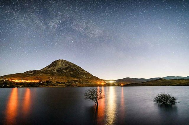 Featured Photo: The milky way slightly visible over Mount Errigal by @colmk15. At 751m, Errigal is the tallest peak in County Donegal.  Make sure to check out his page.  Follow us to see more amazing images of Ireland 😀 -------------------------------------------------------------------------- Use our #pictureireland hashtag to share your best photos and to be in with a chance to be featured on our Instagram and website community page: www.picture-ireland.com/community  #pictureireland #Irish #fineart #landscape #photography #landscapephotography  #ireland #inspireland_ #loveireland #tourismireland #igersireland #insta_ireland #instaireland #discoverireland #photos #photooftheday #picoftheday #loves_ireland #Donegal #countydonegal #errigal #mountains #mounterrigal #hike #hiking