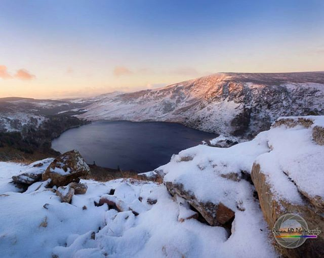 Featured Photo: A snowy day at Lough Tay by @ronanhdphotography. Make sure to check out his gallery!  Follow us to see more amazing images of Ireland 😀 -------------------------------------------------------------------------- Use our #pictureireland hashtag to share your best photos and to be in with a chance to be featured on our Instagram and website community page: www.picture-ireland.com/community  #pictureireland #fineart #landscape #photography #ireland #inspireland_ #loveireland #igersireland #insta_ireland #instaireland #irish #photography #discoverireland #photos #photooftheday #picoftheday #loves_ireland #photooftheday #Wicklow #loughtay #lake #wicklowway #mountains #guinnesslake #snow #winter #irishwinter #snowymountains #hike #hiking