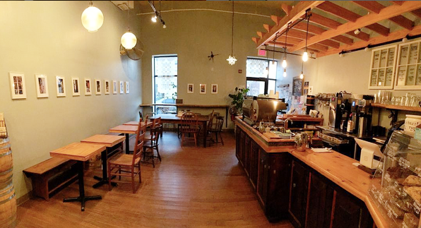 OQ Coffee's Gallery Wall, in 2016